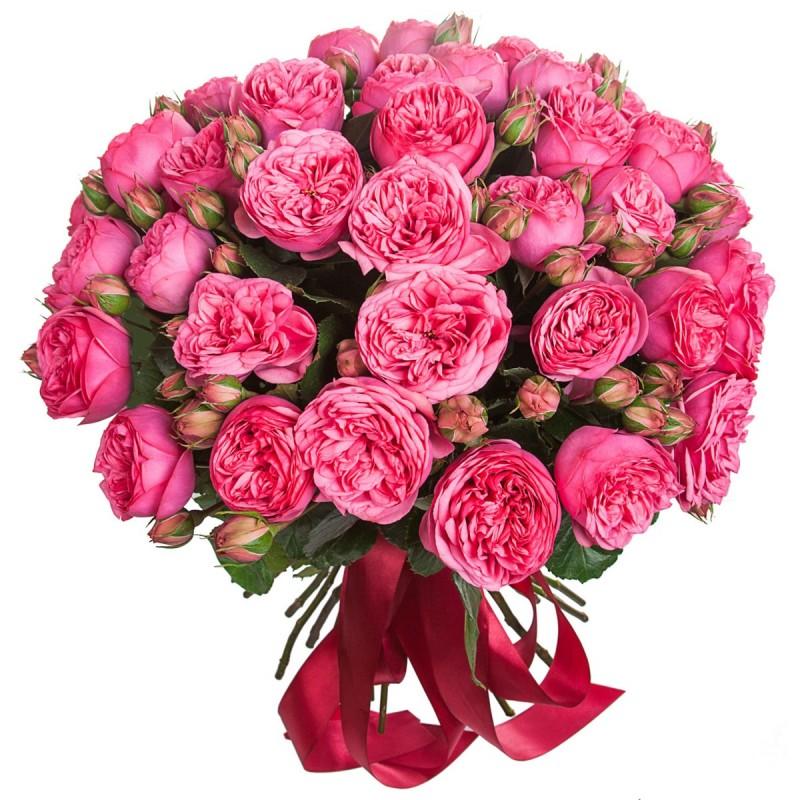 Букет из роз Pink Piano
