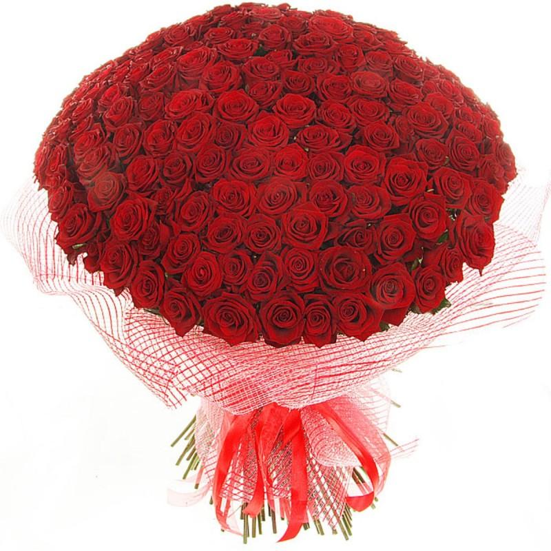 """Букет из красных роз """"Гран При"""""""