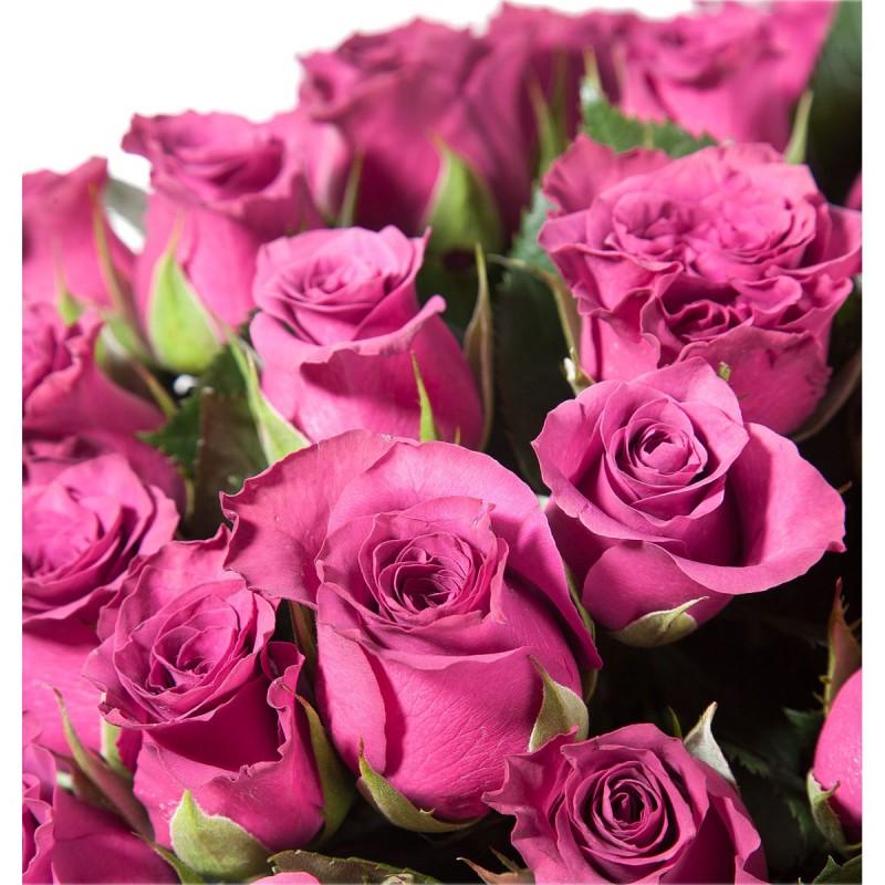 """Букет из темно - розовых роз """"Аскот  Премиум"""""""