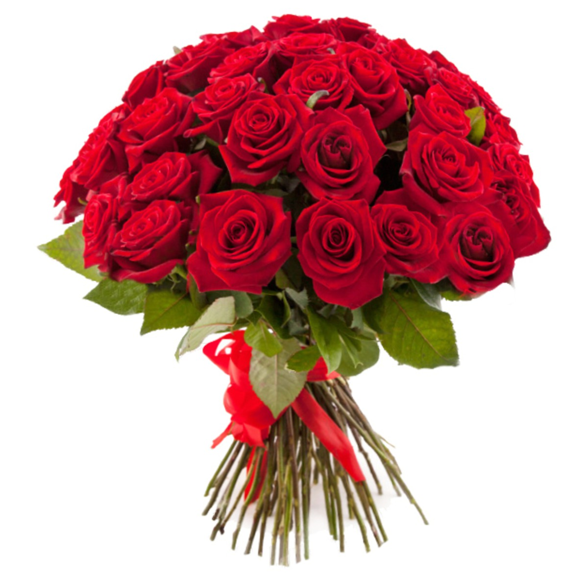 Букет роз – это символ крепкой и страстной любви.